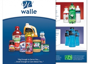 Brochure design for Walle.